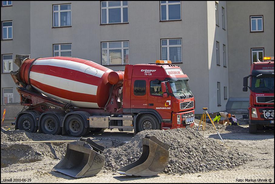 Schermans betongpumpar