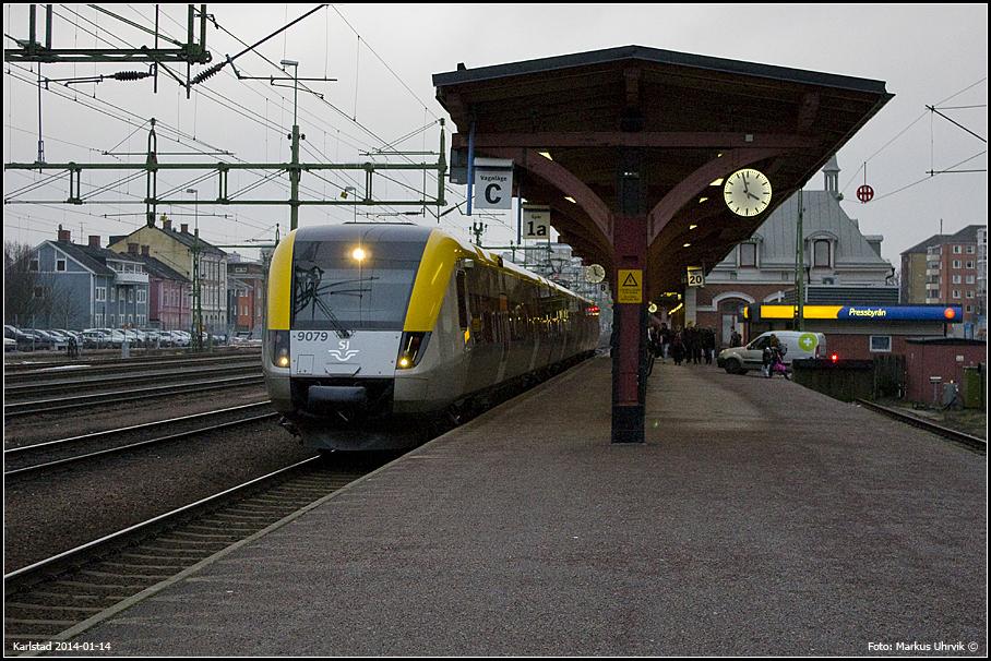 X52 9079 ankommer Karlstad C