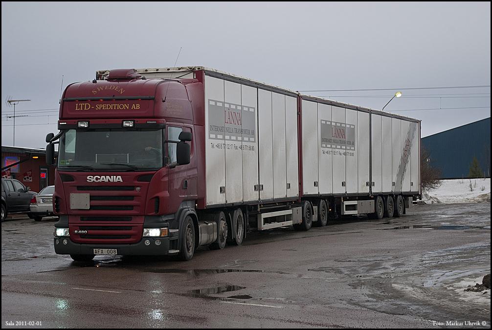 Lastbilar i Sala [bilder]